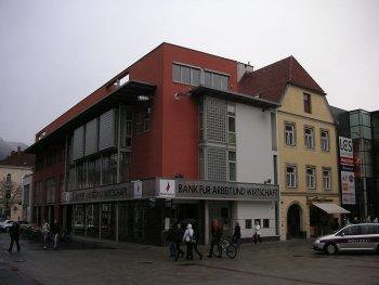 BAWAG Filiale im Zentrum von Leoben